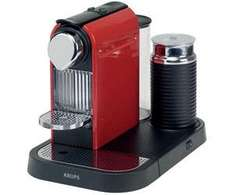 [lokal?] Krups Nespresso New CitiZ & Milk XN 7305 Fire-Engine Red - Saturn/MM Braunschweig