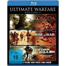 Ultimate Warfare - Edition 1  3 Blu-ray Filme für 8,97€