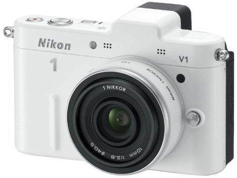 Nikon 1 V1 Systemkamera  inkl. 1 Nikkor 10 mm Pancake Objektiv für 299,97 € @Amazon.de