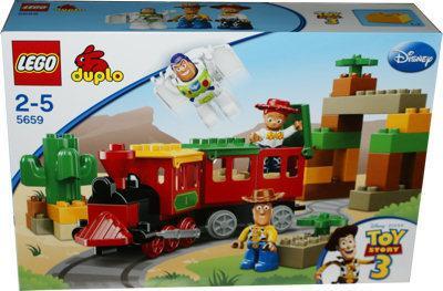"""Lego Duplo """"DIE GROSSE EISENBAHNJAGD"""" 5659 für nur 46,89 EUR inkl. Versand!"""
