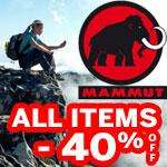 40 % Rabatt auf alle Mammut-Artikel (Kleidung) im Outdoor-Store von bike-discount.de