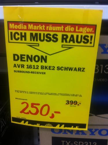 Denon AVR 1612 BKE2 - Lokal Düsseldorf