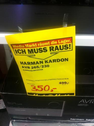 Harman Kardon AVR 265/230 - AV- Receiver - Lokal Düsseldorf