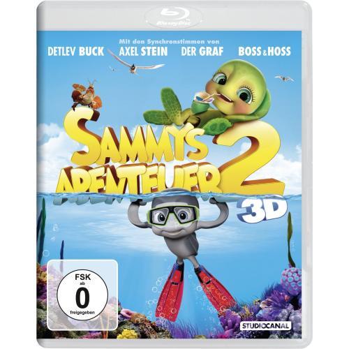[Vorbestellung] buecher.de ++ Sammys Abenteuer 2 [3D Blu-ray] ++ 15,99€ inkl. Versand