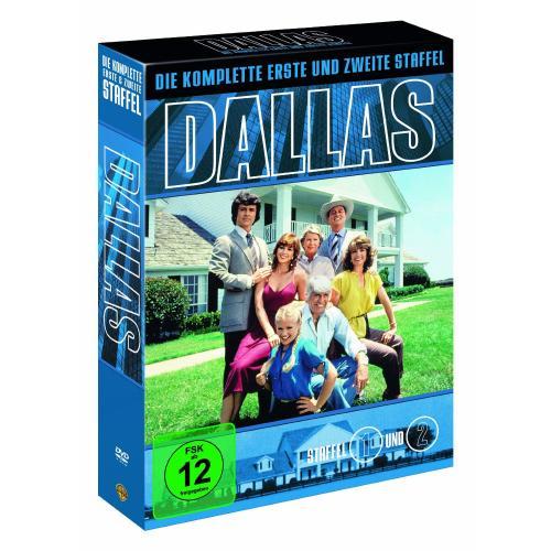Dallas die komplette erste und zweite Staffel auf 7 DVDs für 9,97 @Amazon