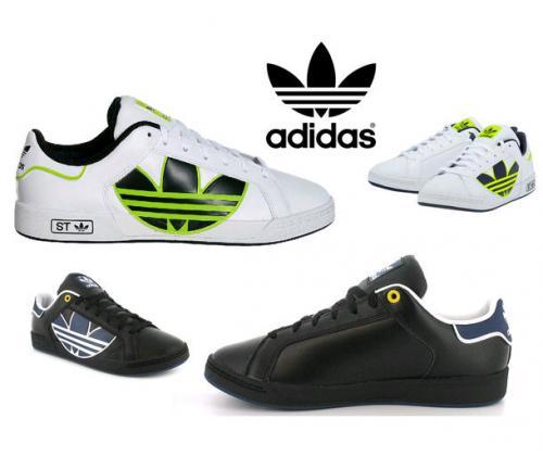 [ebay] - Adidas Schuhe Originals Herren Leder Trefoil ST 45€