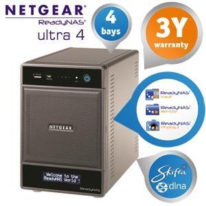 [@ iBOOD] NETGEAR RNDU4000 ReadyNAS Ultra 4