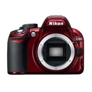 "Nikon D3100 in rot als WHD ""gebraucht-wie neu"""