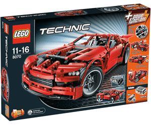 [online] Lego Techic Super Car (8070) - 83,33€ @ null.de