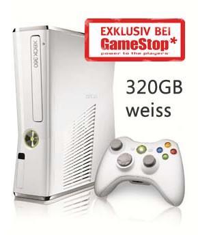 Xbox 360 weis 320 Gb Limited Edition