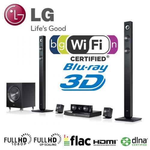 3D-Blu-ray 5.1 Heimkinosystem LG BH7420P bei iBOOD