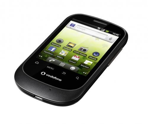 Vodafone 858 Android mit 15,- EUR Guthaben für nur 36,- EUR inkl. Versand! [Prepaid: Vodafone CallYa]