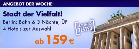 Städtereise nach Berlin: Bahn & drei Nächte im 5*-Hotel inkl. Frühstück für 2 Personen