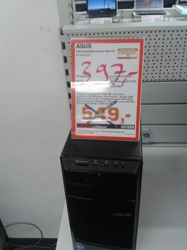 Desktop PCs von ASUS, Dell, Microstar stark reduziert / Köln Saturn (4. Etage Kaufhof)
