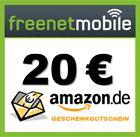 klarmobil 10 Euro Guthaben + 20€ Amazon Gutschein oder....