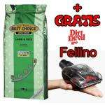 Gratis Dirt Devil Fellino Tierhaarbürste beim Kauf von 15 KG Best Choice Hundefutter