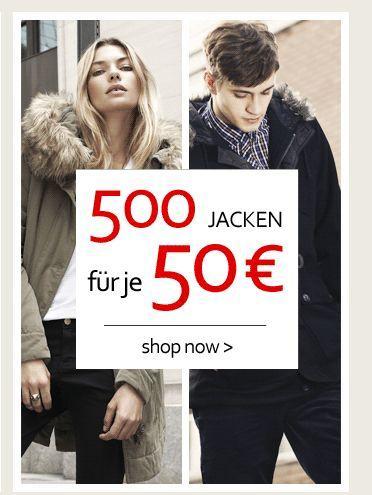 Haburi - 500 Jacken um je 50 € für Männer und Frauen