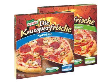 """LIDL Trattoria Alfredo """"Die Knusperfrische"""" Pizza ähnlich Dr. Oe """"Die Ofenfrische"""""""