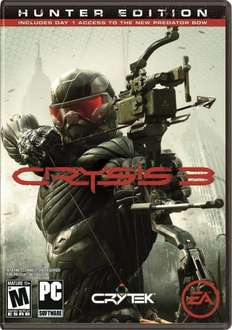 Crysis 3 Hunter Edition Origin Key bei amazon.com für rund 34 EUR