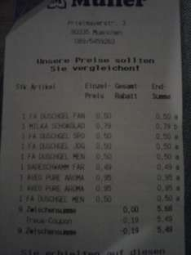 Lokal? Fa Duschgel für 50 Cent im Müller München Hbf