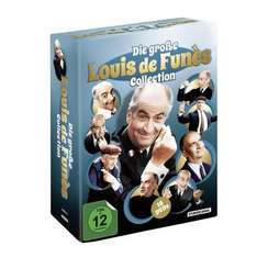 16 DVDs Louis de Funès @amazon.de für  55,99 EUR