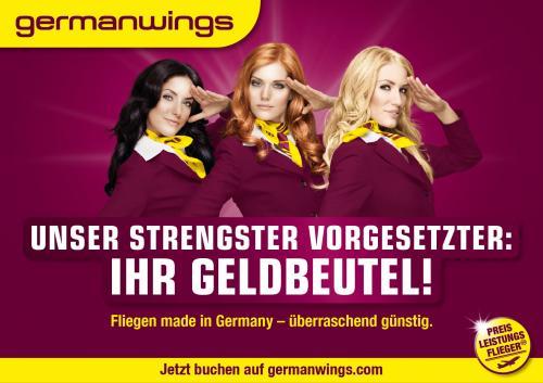 Germanwings Kreditkarten Classic sichern und sichere dir 10.000 Meilen zur Begrüßung (= 1 Prämienflug)!