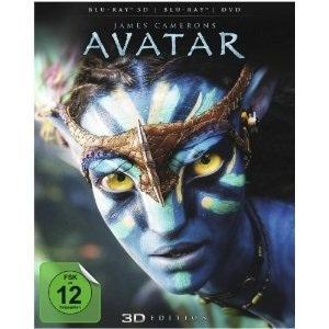 Avatar 3D BluRay für 19,99€ inkl. Versand bei CeDe