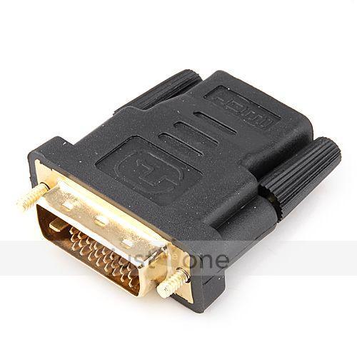 DVI - HDMI Adapter (HDMI Buchse) - 1,68€ @ebay