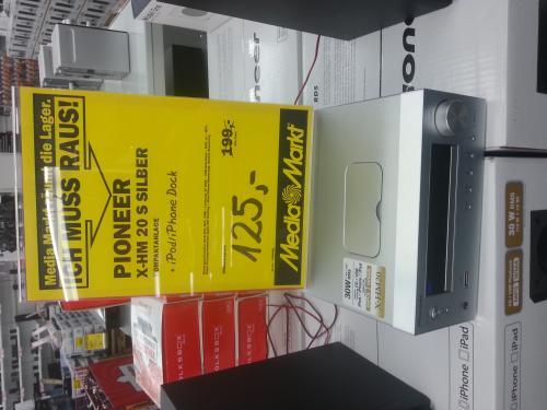 [lokal Rostock? ] Pioneer X-HM 20 s silber für 125 € (Idealo: 183 €) - Kompaktanlage mit iDock