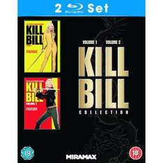 Kill Bill 1&2 ( UK Blu-ray) inkl. VSK für 14,10 € @ amazon.uk