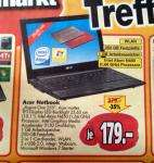 Acer Netbook Aspire One 255  @ Postenmarkt Ratio Bochum (offline)