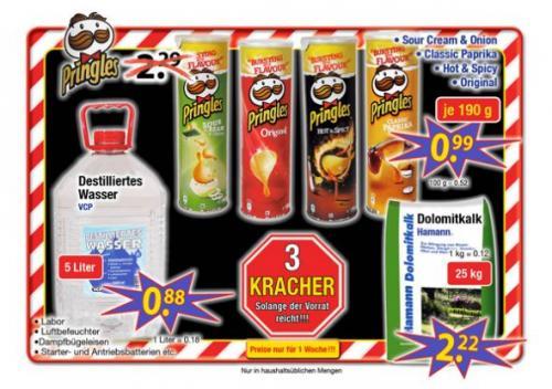 [CenterShop] Pringles für 99 Cent