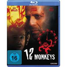 [amazon.de] Blu-Ray 12 Monkeys (mit Bruce Willis+Brad Pitt, imdb 8,1) für 7,99 EUR