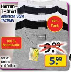 (Centershop) 5er Pack American Style T-Shirts5,99€  -Relax  Liege 9,99€  -Pringless 0,99€