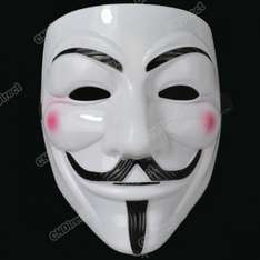 V for Vendetta (Guy Fawkes) Maske für 1,68€ @ EBAY