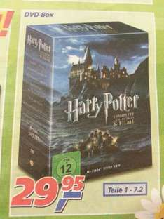 [real] Harry Potter 1-7.2 für 29.99 DVD