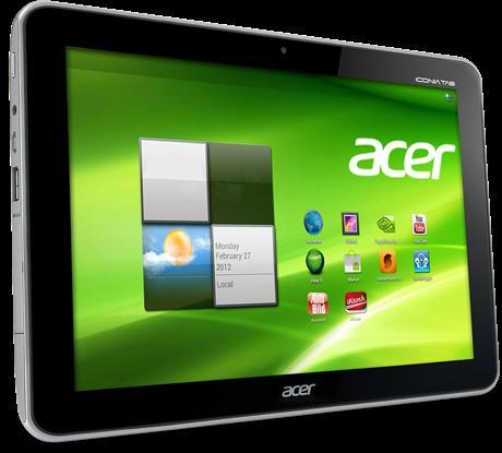 "Acer Iconia A210 - 10,"" Tegra 3, Android 4.1, 16GB für nur 239,76 €"