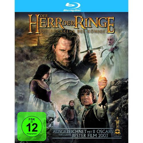 Der Herr der Ringe - Die Rückkehr des Königs [Blu-ray] bei Amazon für 7,97€ , die anderen 2 Teile auch für je 7,97€