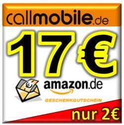 [ebay] callmobile Sim Karte mit 12 Euro Startguthaben + 17 EURO AMAZON Gutschein WIEDER DA