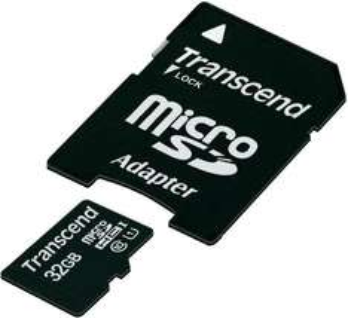 Transcend microSDHC-Karte 32GB Class 10 UHS-1 inkl. SD-Adapter | 20 Euro glatt @smdv (+qipu)