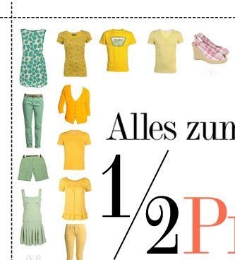 Dress for Less - Alles zum halben Preis!