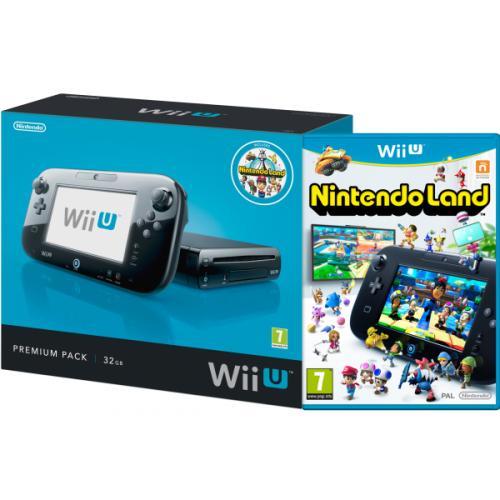 Nintendo™ - Wii U 32GB Konsole Premium Pack (Black) für €260,77 [@Zavvi.com]