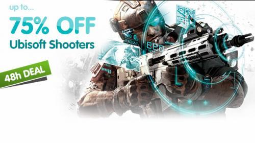 [GMG] Ubisoft-Shooter bis zu 75% reduziert bei Green Man Gaming