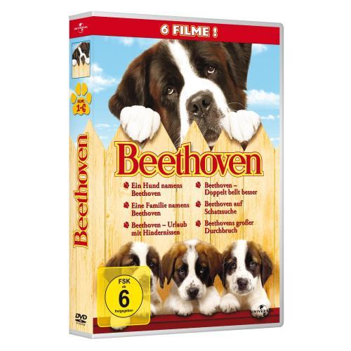 Beethoven 1-6 Box mit 6 DVDs für 12,97 Euro (+max. 3 Euro Versand) @Amazon