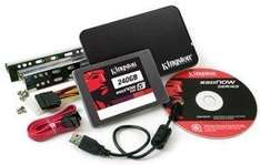 240 Gb SSD - Kingston SSDNow V+200 Upgrade Bundle Kit für 112,63€
