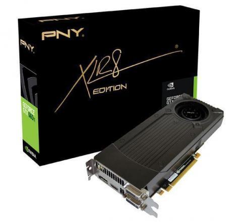 PNY GeForce GTX 660 Ti - 2 GB GDDR5 - PCI-Express 3.0 (GF660IGTX2GEPB