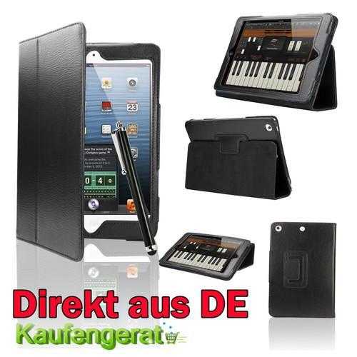 Leder Etui + Touch Pen + Schutzfolie für das iPad Mini für nur 1,99 EUR inkl. Versand!
