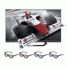 LG 47LM640S 119 cm (47 Zoll) Cinema 3D LED Plus Backlight-Fernseher @ Amazon WHD