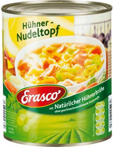 [Kaufland Bundesweit?] 50% auf Erasco Eintöpfe 800g für 1,19 EUR bzw. 1,29