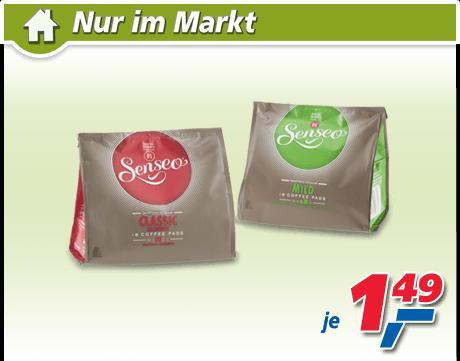 Senseo Kaffee Pads bei Real (deutschlandweit) - Verschiedene Sorten zu 1,49 €